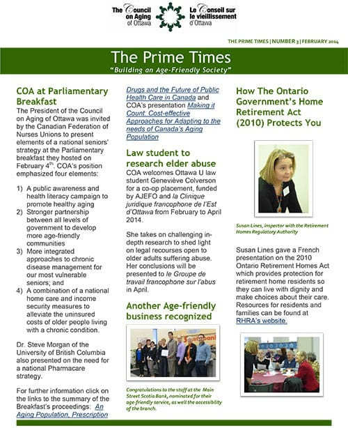 The Prime times - February 2014