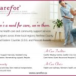 COA Spring Luncheon 2019 carefor ad