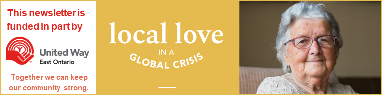 United Way Banner - Local love in a global crisis