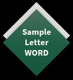 Sample Letter WORD