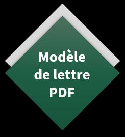 modele de lettre pdf